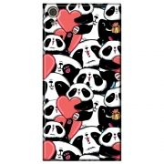Capa Personalizada para Sony Xperia XA1 - Love Panda - LV21