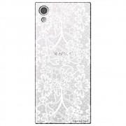 Capa Personalizada para Sony Xpperia XA1 - Renda Branca - TP283