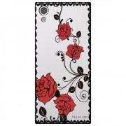 Capa Personalizada para Sony Xpperia XA1 - Renda com Rosas - TP291