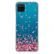 Capa Personalizada Samsung Galaxy A12 A125 - Corações - TP48