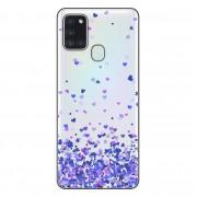Capa Personalizada Samsung Galaxy A21S A207 - Corações - TP170