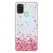 Capa Personalizada Samsung Galaxy A21S A207 - Corações - TP48