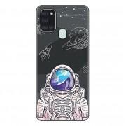 Capa Personalizada Samsung Galaxy A21S A207 - Estrelas - ST04