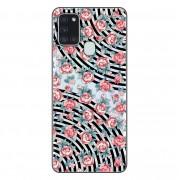 Capa Personalizada Samsung Galaxy A21S A207 - Floral - FL28
