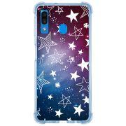 Capa Personalizada Samsung Galaxy A30 A305 - Estrelas - ST02