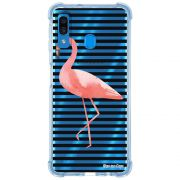 Capa Personalizada Samsung Galaxy A30 A305 - Flamingos - TP317
