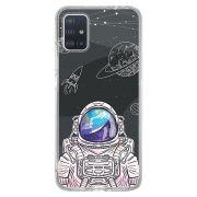 Capa Personalizada Samsung Galaxy A51 A515 - Estrelas - ST04