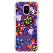 Capa Personalizada Samsung Galaxy A6 A600 Florais - FL10