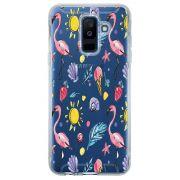 Capa Personalizada para Samsung Galaxy A6 Plus A605 Flamingos - TP318
