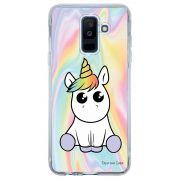 Capa Personalizada para Samsung Galaxy A6 Plus A605 Unicórnio - TP323