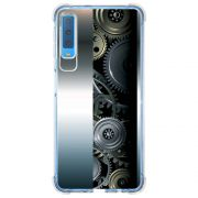 Capa Personalizada Samsung Galaxy A7 2018 Hightech - HG09