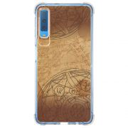 Capa Personalizada Samsung Galaxy A7 2018 Horóscopo Papiro - MC03