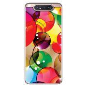 Capa Personalizada Samsung Galaxy A80 A805 - Bolhas - AT98
