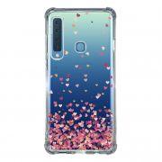 Capa Personalizada Samsung Galaxy A9 2018 A920 - Corações - TP48
