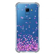 Capa Personalizada Samsung Galaxy J4 Core J410 - Corações - TP167