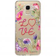 Capa Personalizada Samsung Galaxy J6 J600 Love - TP156