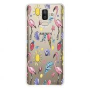 Capa Personalizada para Samsung Galaxy J8 J800 Flamingos - TP318