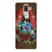 Capa Personalizada Samsung Galaxy J8 J800 Religião - RE21