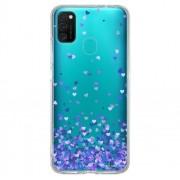 Capa Personalizada Samsung Galaxy M21 M215 - Corações - TP170