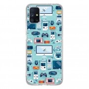 Capa Personalizada Samsung Galaxy M51 M515 - Games - VT13