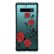 Capa Personalizada Samsung Galaxy S10 G973 - Rendas - TP291