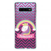 Capa Personalizada Samsung Galaxy S10 G973 - Unicórnios - UN05