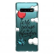 Capa Personalizada Samsung Galaxy S10+ G975 - Frases - TP377