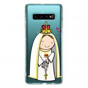 Capa Personalizada Samsung Galaxy S10+ G975 - Nossa Senhora - TP353