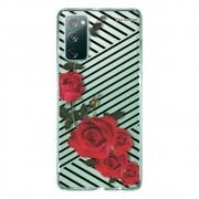 Capa Personalizada Samsung Galaxy S20 FE - Floral - FL32