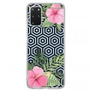 Capa Personalizada Samsung Galaxy S20 Plus G985 - Floral - FL25