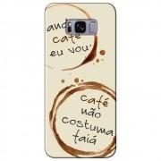 Capa Personalizada para Samsung Galaxy S8 G950 - Café - AT97