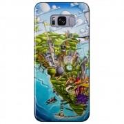 Capa Personalizada para Samsung Galaxy S8 Plus G955 - De Orlando á Miami - DE29