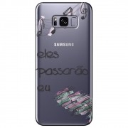 Capa Personalizada Samsung Galaxy S8 Plus G955 - Passarão eu - TP383