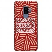 Capa Personalizada para Samsung Galaxy S9 Plus G965 - Bacon - AT95