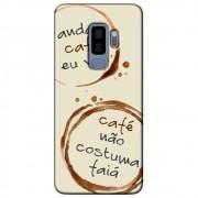 Capa Personalizada para Samsung Galaxy S9 Plus G965 - Café - AT97