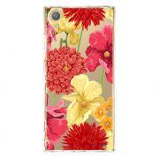 Capa Personalizada Sony Xperia XA1 Plus G3426 Floral - TP35