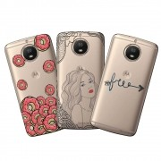 Capa Personalizada Transparente para Motorola Moto G5S Plus