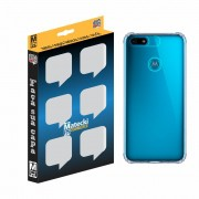 Capa TPU Anti-Impacto Motorola Moto E6 Play XT2029 - Transparente