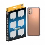 Capa TPU Anti-Impacto Motorola Moto G9 Plus XT2087 - Transparente