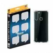 Capa TPU Anti-Impacto Motorola One Fusion XT2073 - Transparente