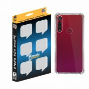 Capa TPU Anti-Impacto Transparente Motorola Moto G8 Play XT2015