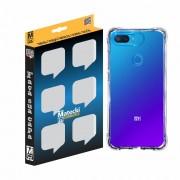 Capa TPU Anti-Impacto Xiaomi Mi 8 Lite - Transparente
