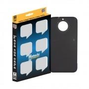 Capa TPU Premium Grafite para Motorola Moto G5S Plus