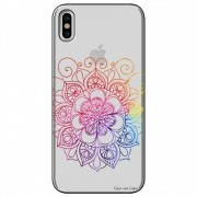 Capa Personalizada para Apple iPhone X - Mandala - TP251