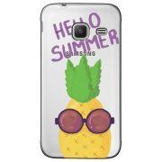 Capa Transparente Personalizada para Samsung J1 NXT  - Hello Summer - TP322