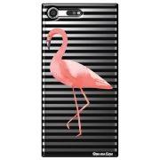 Capa Personalizada para Sony Xperia XZ Premium - Flamingo - TP317