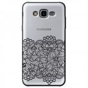 Capa Transparente Personalizada Samsung Galaxy J7 Neo - Renda - TP300