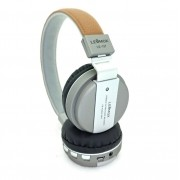 Headphone Lehmox LE-137 - Marrom com Prata