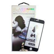 Película de Vidro Flexível Nano Microcristais Apple iPhone 7 8 Plus - Preta