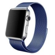 Pulseira Milanese para Apple Watch 38MM - Azul